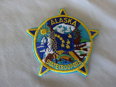 Alaska  State Trooper Patch.  Only One On Ebay.