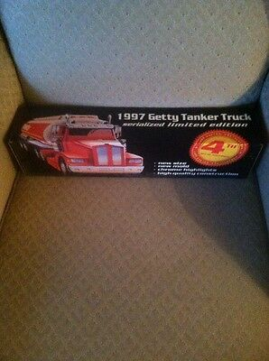1997 Getty Tanker Truck Serialized Limited Edition New