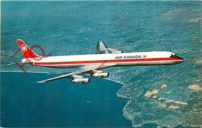 Postcard: AIR CANADA DOUGLAS DC-8 [AIRLINE ISSUE]