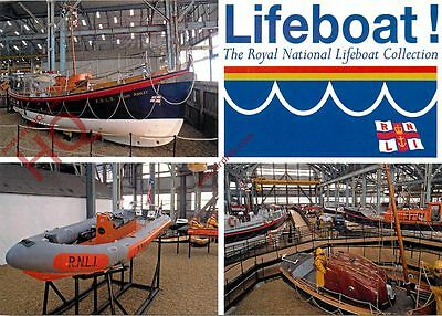 Postcard: RNLI The Royal National Lifeboat Collection (Multiview)