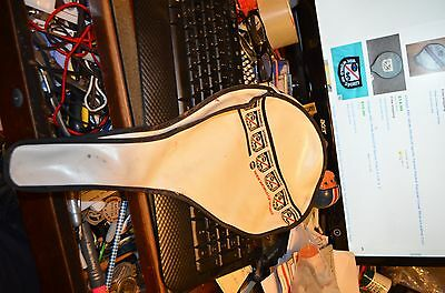 Vintage ABC Wide World Of Sports Racket Racquet Cover - Free Shippping