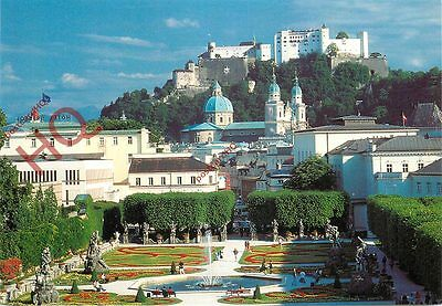 Postcard: Salzburg, The Sound Of Music, The Garden Of Mirabell-Palace