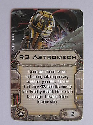 X-Wing Upgrade Card - R3 Astromech