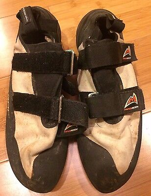 Mad Rock Mugen Tech Climbing Shoes - Gray/Black - Womens Size US 10.5