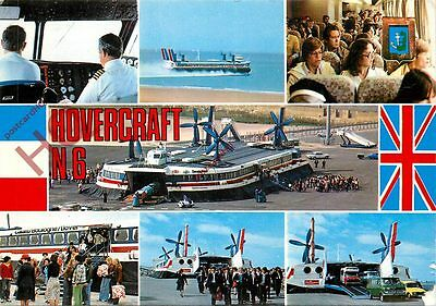Postcard: HOVERCRAFT, N6 'PRINCESS ANNE' (MULTIVIEW)
