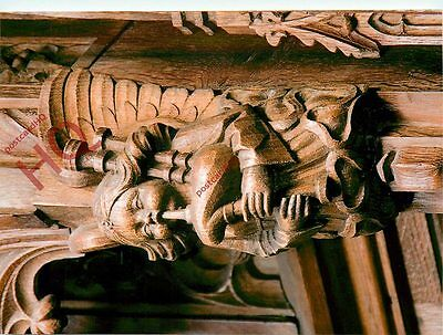 Postcard: Edinburgh, St. Giles Cathedral, Angel With Bagpipes, Thistle Chapel