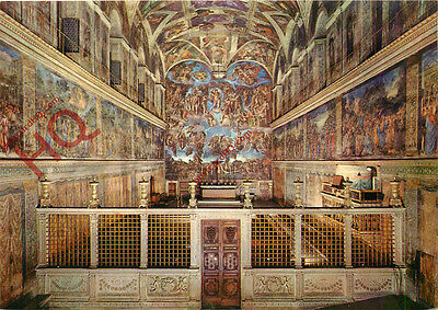 Postcard: Vatican City, The Sistine Chapel
