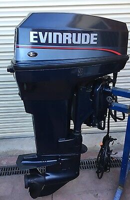Evinrude 40 HP OUTBOARD MOTOR Original Excellent Condition Interstate Shipping.