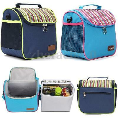 Portable Camping Picnic Lunch Food Storage Cool Box Insulated Thermal Cooler Bag