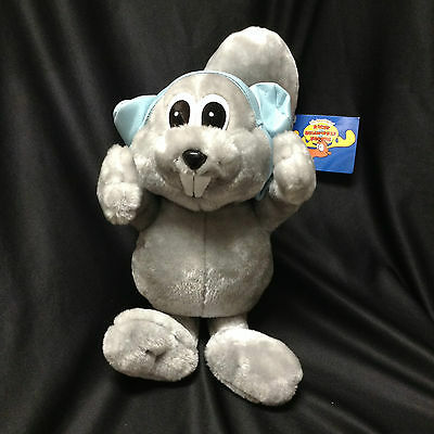 Rocky The Flying Squirrel Aviator Plush Doll Rocky And Bullwinkle Toy Network