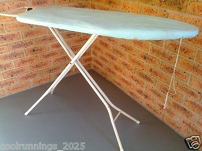 IRONING BOARD FOLDING 102.5cm x 36cm ADJUSTABLE (max Height 82cm) with COVER