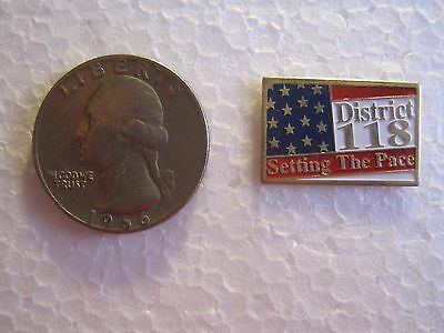 "Walmart Store District 118 ""SETTING THE PACE"" District pin"