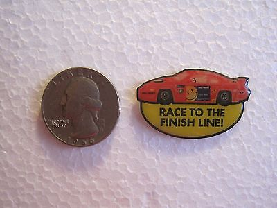 "Wal-Mart Credit Card ""Race to the Finish Line"" Red Race Car"