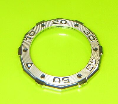 TAG Heuer Aquaracer (NOS) Bezel in stainless steel