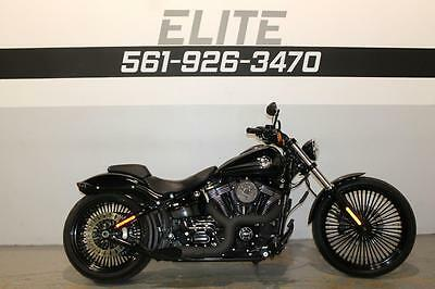 2015 Harley-Davidson Softail  2015 Harley FXSB Breakout VIDEO Exhaust Upgrades Finance Shipping