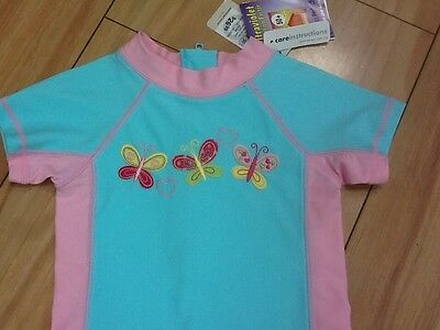 Baby Girl All in one swim wear suit UPF 50+ size 00 New With tag RRP $26.99