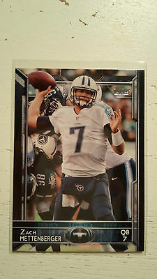 NFL Trading Card Zach Mettenberger Tennessee Titans Topps 2015