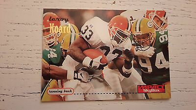 NFL Trading Card Leroy Hoard Cleveland Browns SkyBox Impact 1997