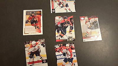 NHL Trading Cards Florida Panthers Upper Deck