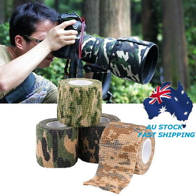 5M Military Army Camo Rifle Shooting Hunting Camouflage Stealth Tape Waterproof