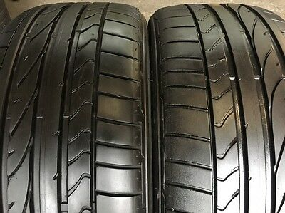 2 X 215 40 17 Bridgestone Potenza RE050A 95%tread Fitting Available, Freight