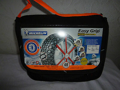 Michelin Pair Easy Grip Composite Snow Chains J11