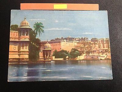 Our Glorious Empire Udaipur Jal Mahal Postcard