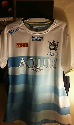 Gold coast titans rugby league training shirt large