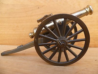 Vintage Old Large Size Military, Army Cannon, Table Cigarette Lighter (C800)