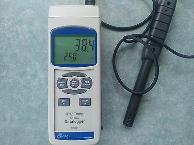 As new Sper Scientific 800021 thermocouple temp and humidity logger
