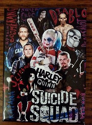 Suicide Squad Magnet~ Harley Quinn and Suicide Squad Task Force