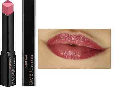 "CATRICE LE ""It Pieces"" Ombré Two Tone Lipstick (010 Rockabily Rosewood) OVP"
