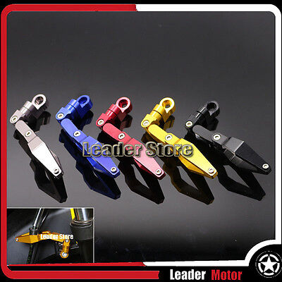 For HONDA NC700S NC700X NC750S NC750X Accessories CNC Brake Line Clamp 5 Colors