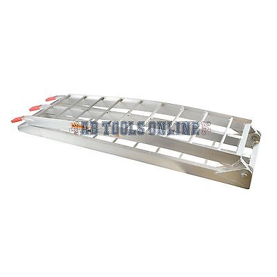 Folding Alu Aluminium Motorcycle Bike Quad Dirt Bike ATV Loading Ramp 340kgs