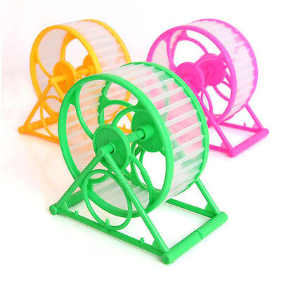 Pet Small Hamster Mouse Rat Mice Stable Sport Exercise Running Spinner Wheel Toy