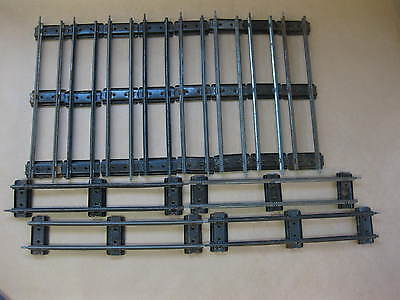 Vintage Hornby Meccano O Gauge Railway Track ~ 12 x Straight