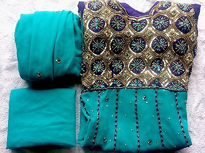 Indian Bridal Wear Suit With Slim Trousers RRP£60+