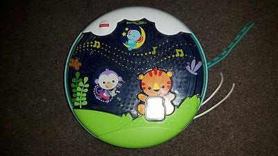 Fisher-Price Glow Motion Soother cot mobile projector