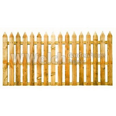 Garden Fence Panel Pointed Picket