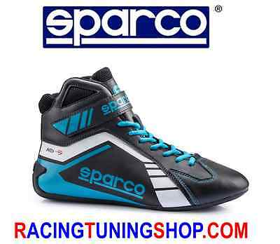 Scarpe Kart Sparco Scorpion Black/blue Eu 44 Karting Boots Shoes - Schuhe Kart