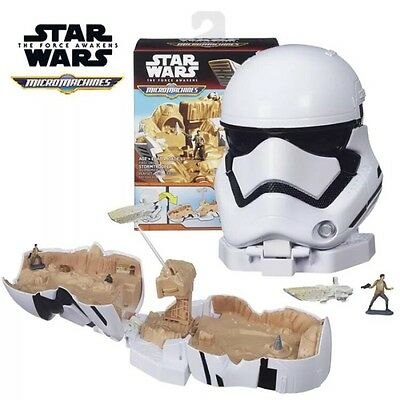 New STAR WARS MICRO MACHINES The Force Awakens First Order Stormtrooper PlaySet