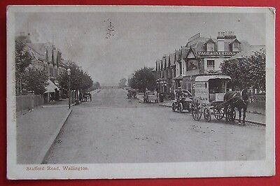 FRENCH & Co Postcard POSTED 1909 STAFFORD ROAD WALLINGTON SURREY