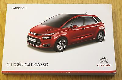 Genuine Citroen C4 Picasso Handbook Owners Manual 2013-2016 Book