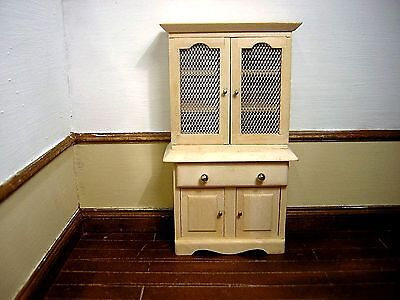 Dollshouse Miniature Cottage Style Kitchen Dresser