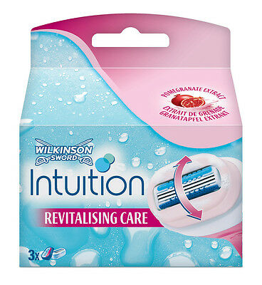 Wilkinson Sword Intuition Pomegranate Blades Refills 4 Packs Of 3´s