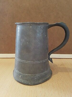 Very old vintage tankard, needs tlc, collectable, house clearance (b7)