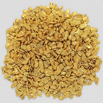 0.9483 Gram Alaska Natural Gold Nuggets / Flakes -(#04167)- Hand-Picked Quality