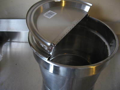 Pan, Insert, 11 Quart, round, stainless,less than 1/2 the price