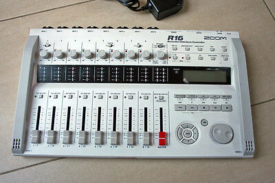 ZOOM R16 16 track digital multitrack recorder/control surface with FX + USB