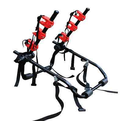 New 3 Bicycle Carrier Car Rack Bike Cycle Universal Fits Most Cars Rear Mount